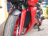 Spoiler fuer K1200R Detail Front links