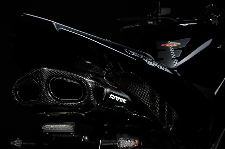 ABS  Bj ABE 08 ABM rGrip Evo Fussrasten Set Suzuki B-King Fahrer vorne inkl