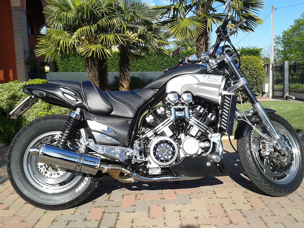 Schwabenmax Motorcycle Parts Accessories And Yamaha Vmax Fuel Filter V Max Italy Thanks To Giuliano